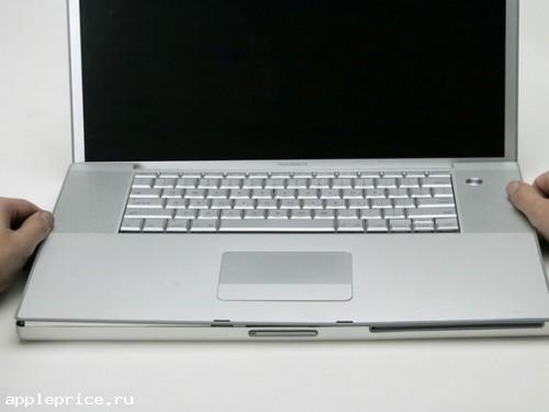 Установка клавиатуры на ноутбук PowerBook G4 17