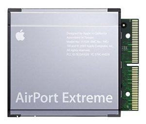 Power Mac G5 установка AirPort Extreme A1027