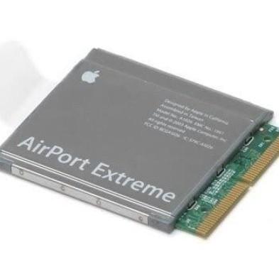 установка AirPort Extreme A1027