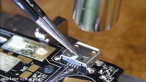 Замена USB-разъема