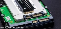 Замена жесткого диска ноутбука (HDD, SSD)